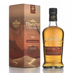 Tomatin FIRE Heavily Charred Oak 46% alk.