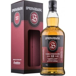 Springbank 12 års Cask Strength 57,1 % alk. autumn 2019