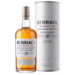 Benriach - The Smoky Ten - 10YO Speyside Single Malt - Bourbon/Virgin Oak/Rum Casks