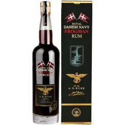 A.H. Riise FROGMAN Royal Danish Navy Rum, 58%